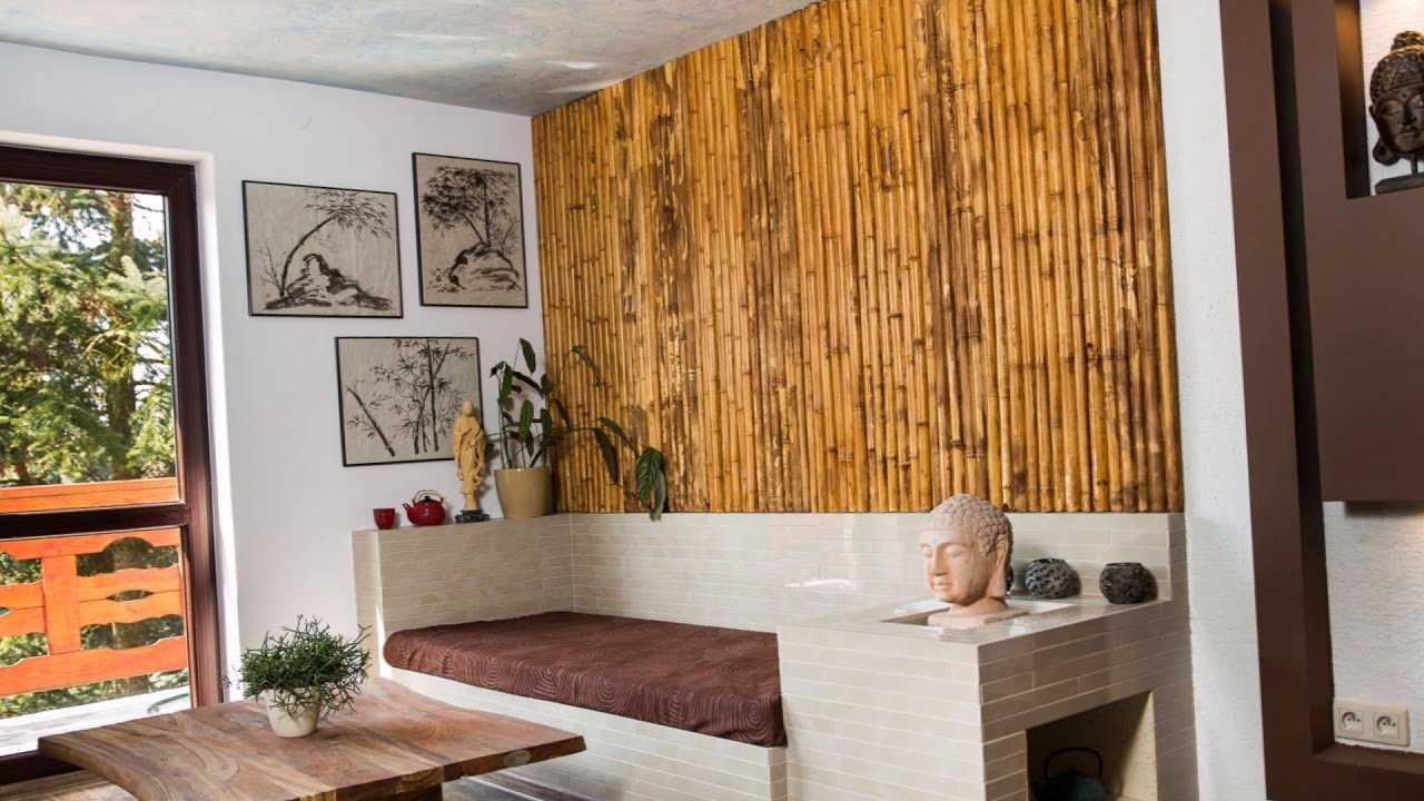 Обои бамбуковые: что это такое и как их правильно наклеить на стены