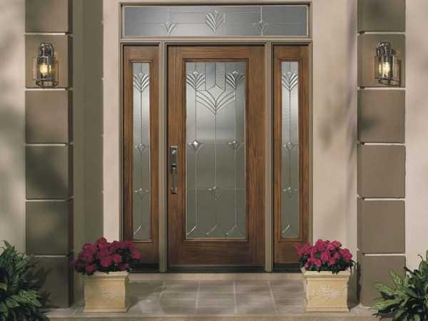 Межкомнатные двери со стеклом