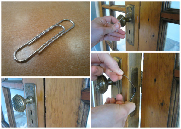 Инструкции, как открыть железную дверь без ключа своими руками