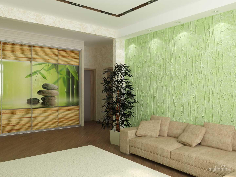 Как клеить бамбуковые обои на стену: поэтапное проведение работ