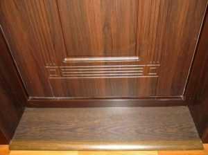 Как сделать порог у входной двери самостоятельно