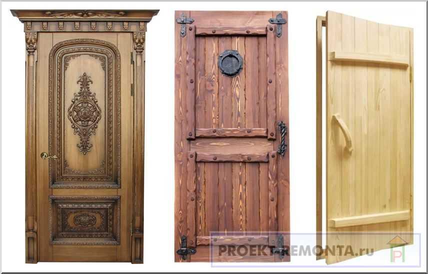 Как можно сделать дверь из досок своими руками: подробная инструкция