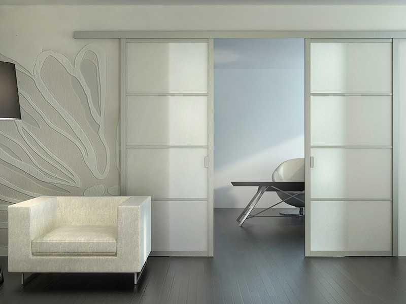 Виды раздвижных дверей — освещаем по пунктам