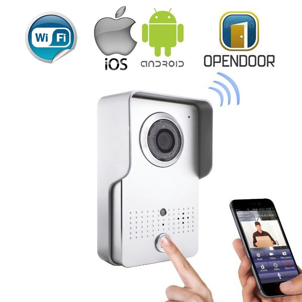 Как работает ip камера в дверной глазок?