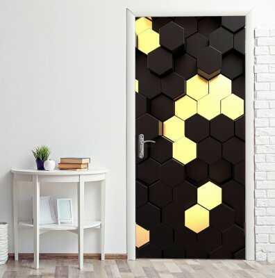 14 идей декорирования межкомнатной двери