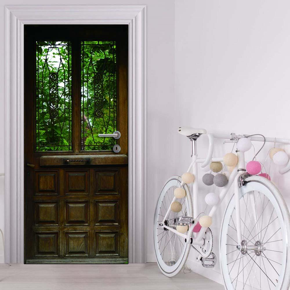 Наклейки для межкомнатных дверей