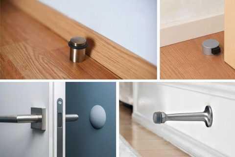 Напольный ограничитель для двери: зачем нужен и какой выбрать?
