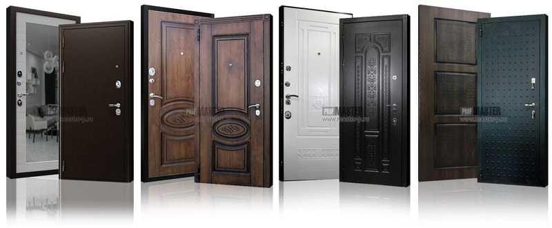 Область применения металлических двухстворчатых дверей