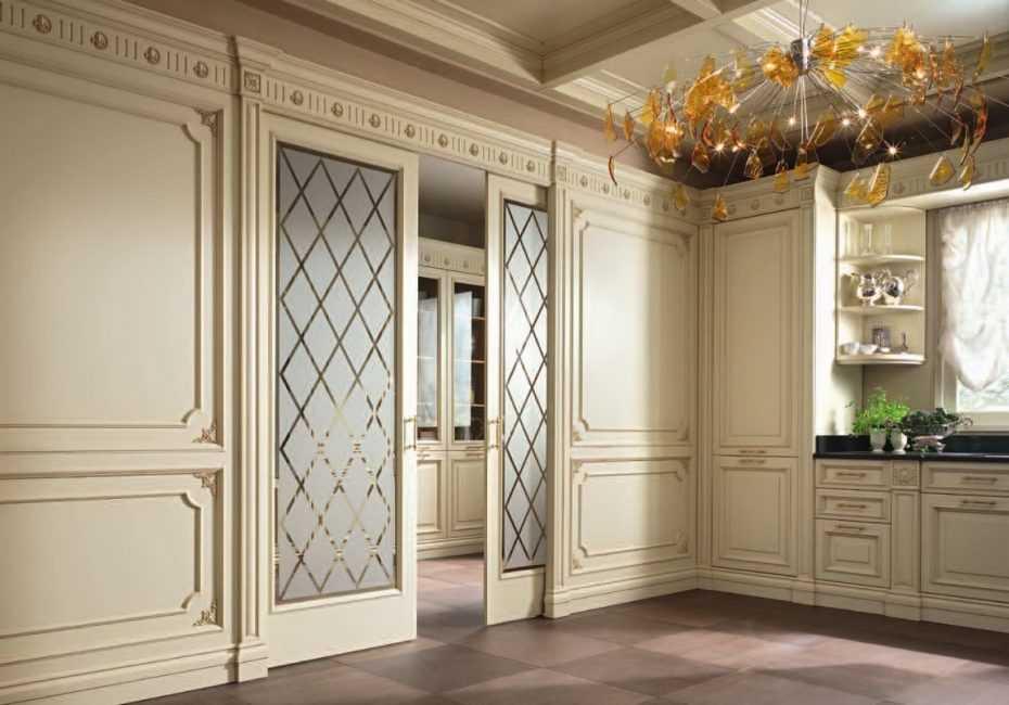 Применение серых дверей в интерьерах квартир