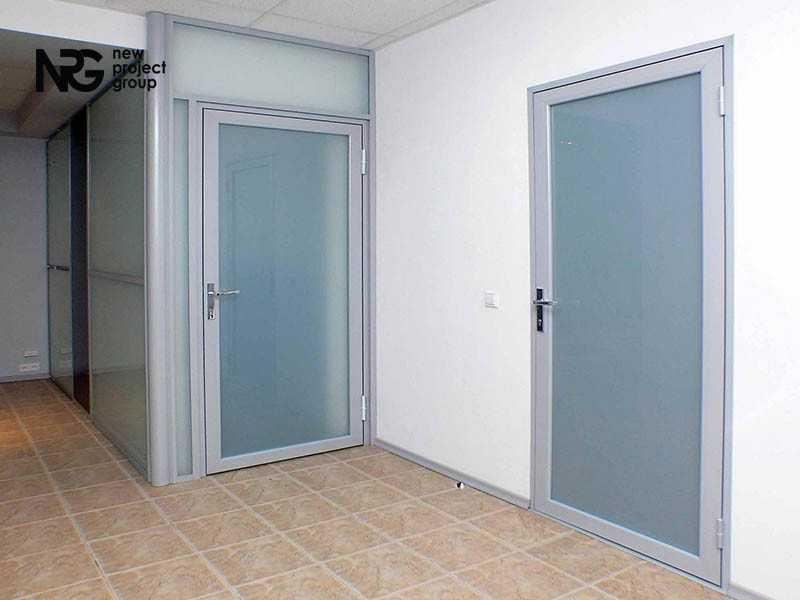 Разновидности алюминиевых дверей и их особенности