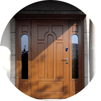 Уличные раздвижные двери