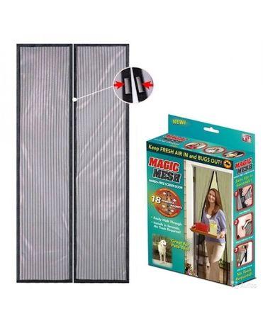 Противомоскитная сетка на магнитах в дверной проём