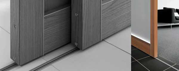 Возможно ли использование раздвижных дверей на кухне