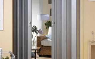 Пошаговая инструкция, как правильно собрать дверь-гармошку