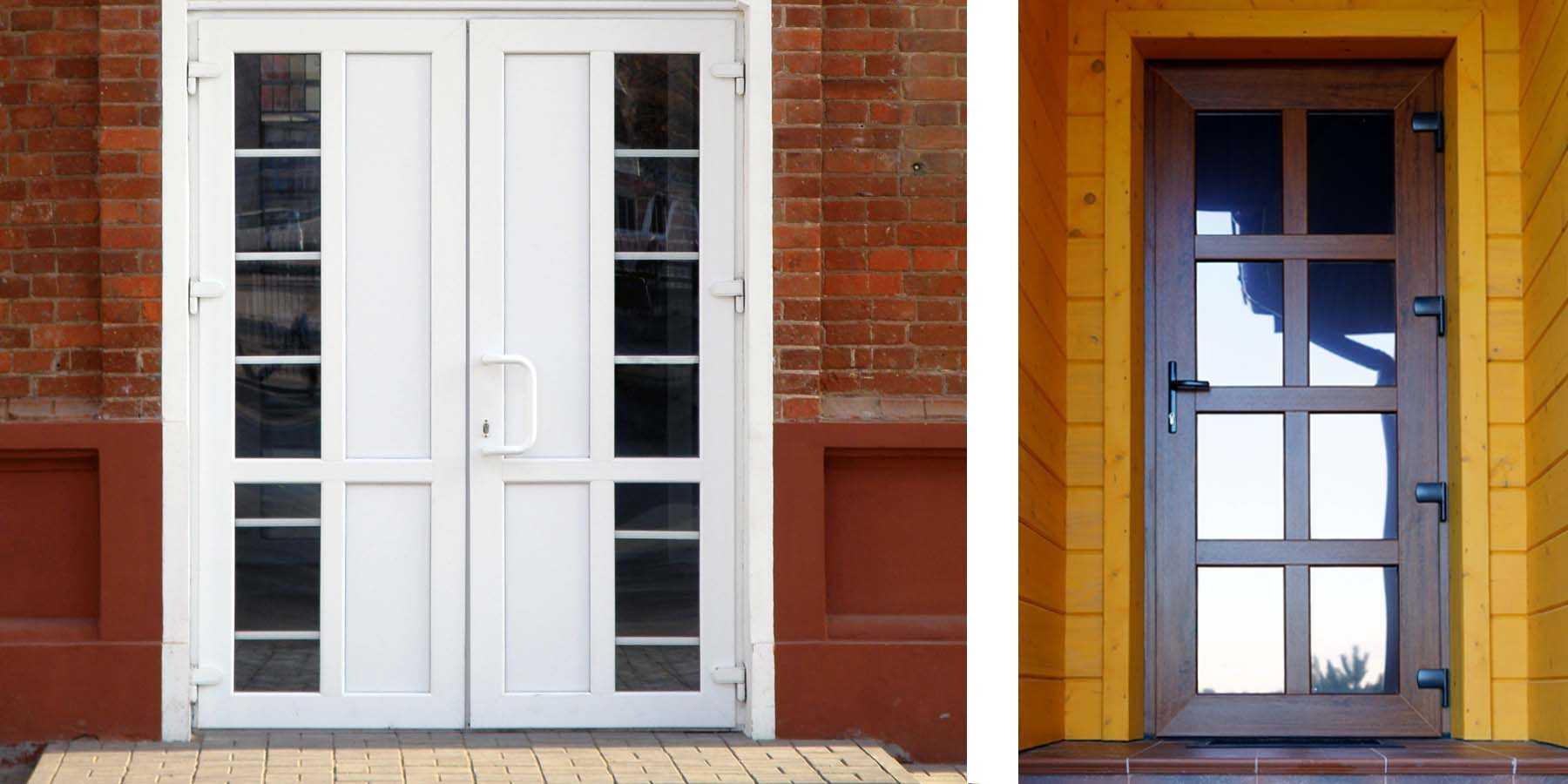 Пластиковые входные двери для частного дома: фото, примеры, особенности » интер-ер.ру