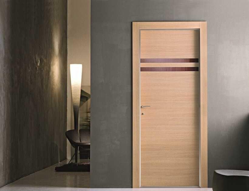 Межкомнатные шпонированные двери: преимущества и недостатки