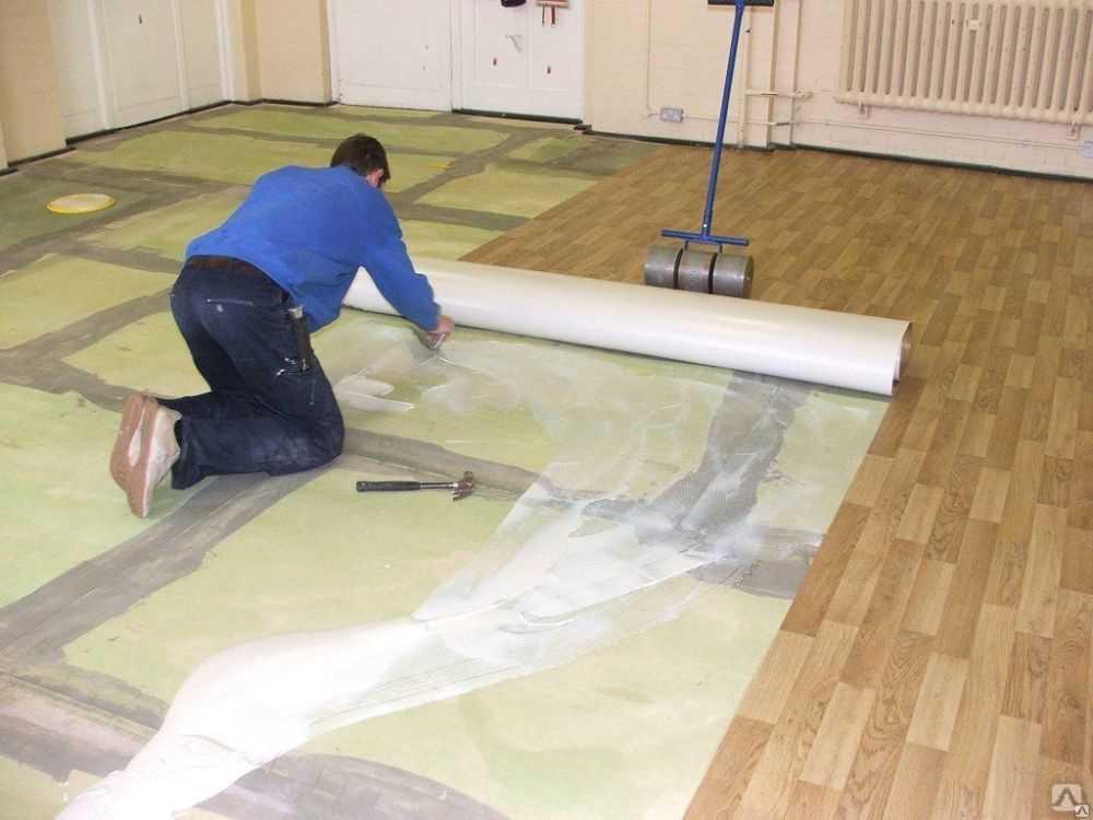 Как выравнивать бетонные полы - под линолеум, без стяжки и под ламинат
