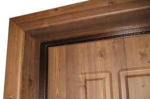 Облагораживаем проём входной двери: варианты отделки