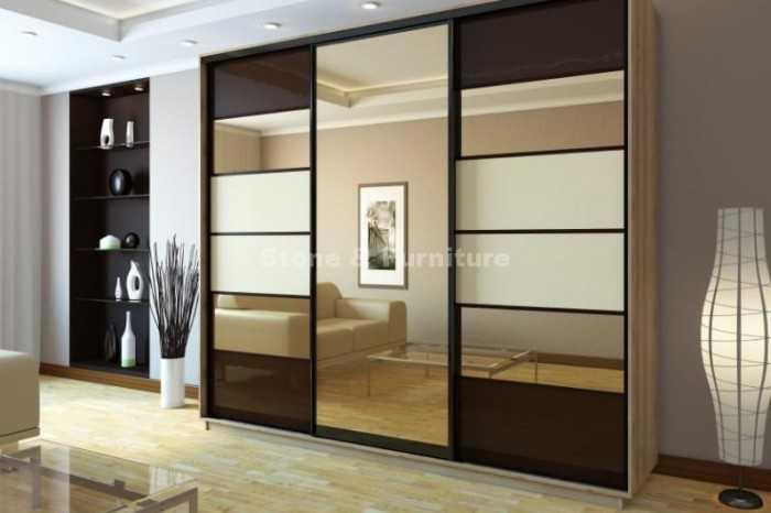 Какие раздвижные двери выбрать в гардеробную [советы и дизайнерские решения]