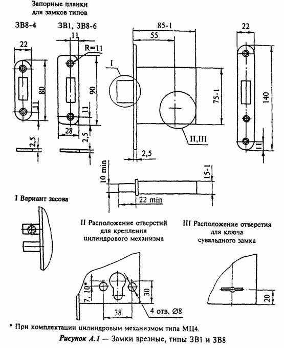 Гост 5089-97 «замки и защелки для дверей. технические условия»