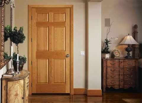 Просто и наглядно: порядок изготовления деревянных дверей