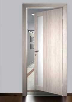 Устройство и эксплуатация межкомнатных дверей из стекла или со стеклом