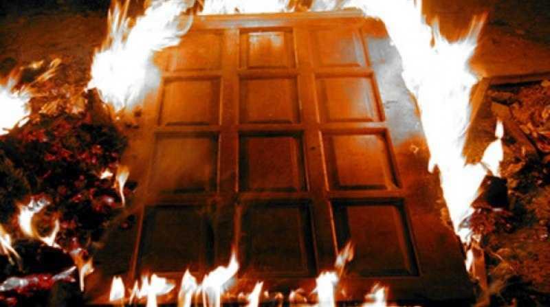 Противопожарная дверь