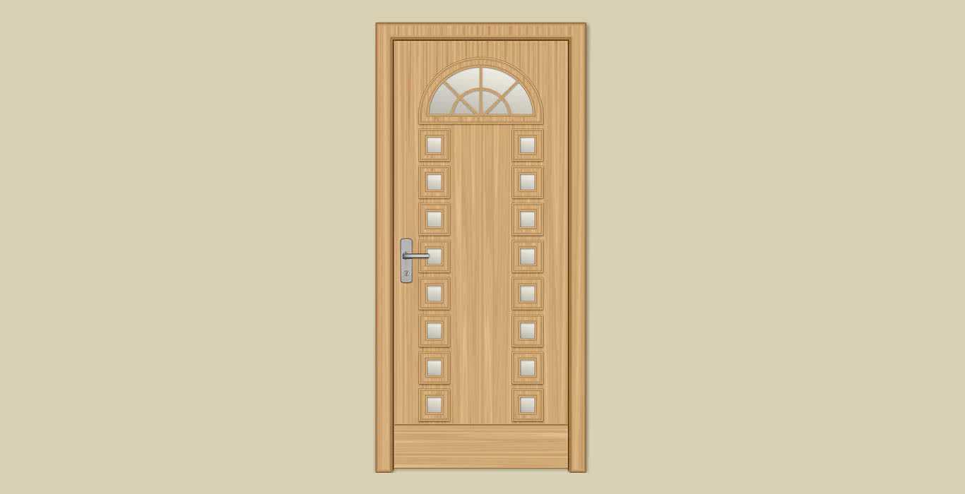 Двери из массива ольхи – оцениваем положительные и отрицательные стороны