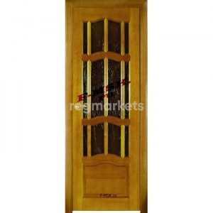Неокрашенные двери массив сосны под окраску