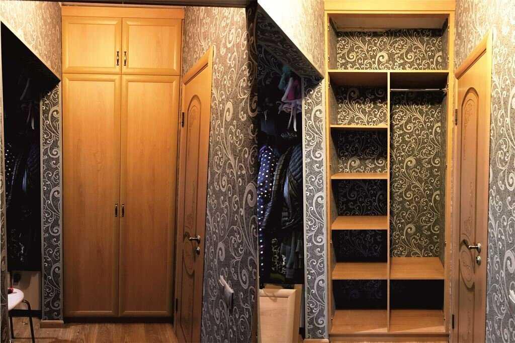 Двери в нишу: стиль и практичность (53 фото)