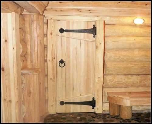 Изготавливаем и монтируем двери в баню своими руками: наглядное пособие