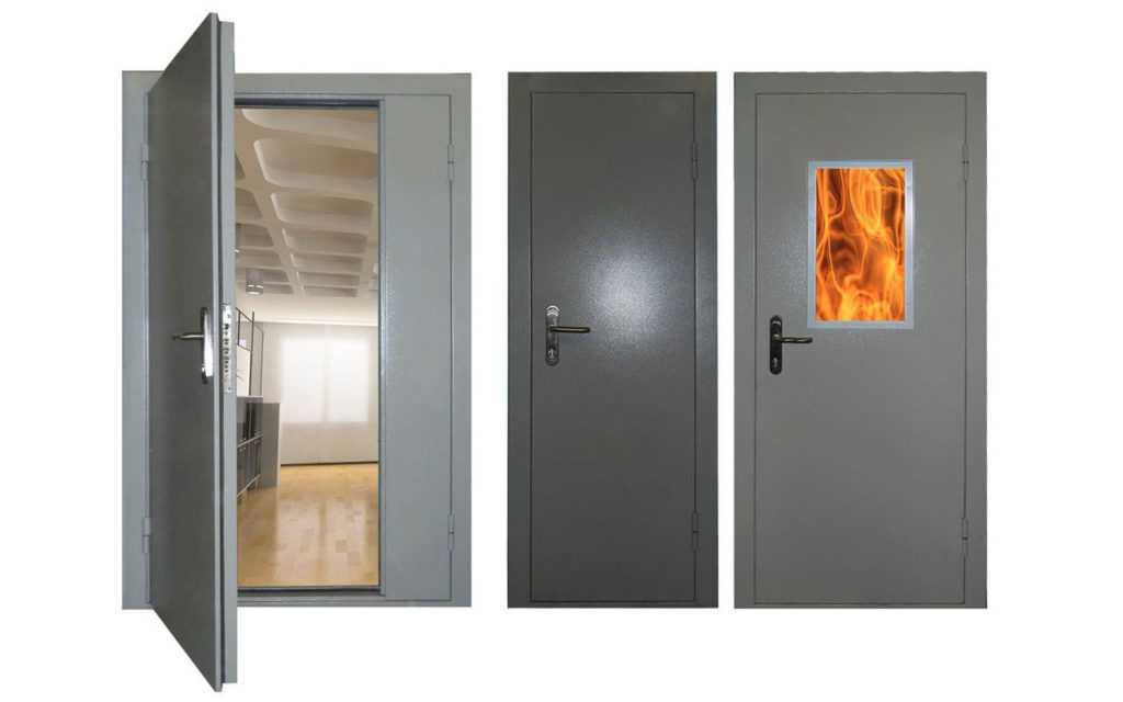 Какие требования к дверям по пожарной безопасности