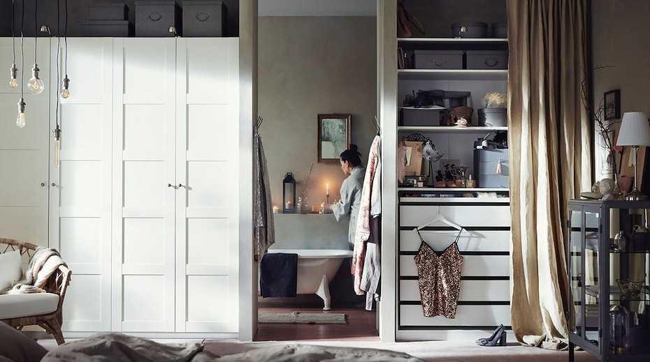 Раздвижные двери для гардеробной своими руками