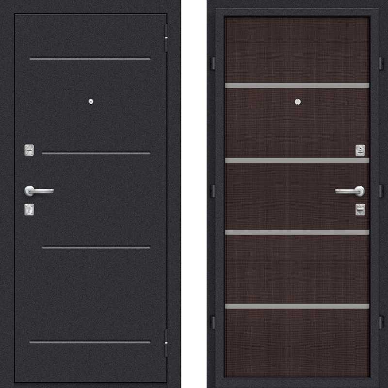Виды и конструкционные особенности металлических дверей
