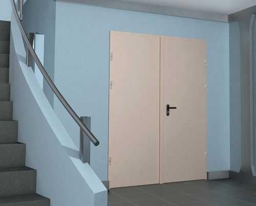 Требования к противопожарным металлическим дверям по гост 31173 2003, особенности конструкции, сфера применения
