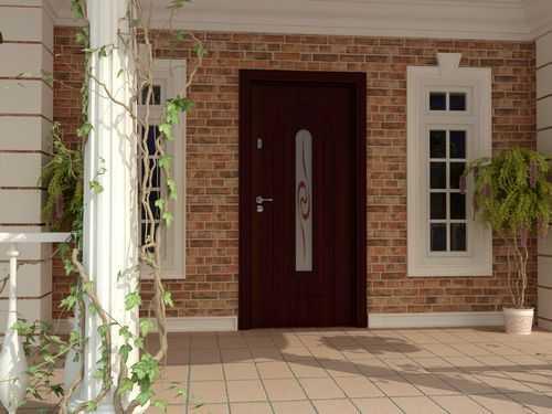 Двери со вставками из стекла: виды и особенности установки