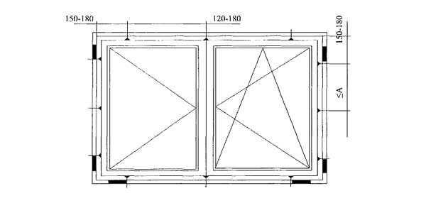 Размеры балконных дверей