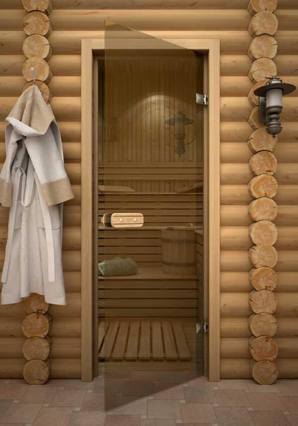 Размеры дверей для бани: какими они должны быть?