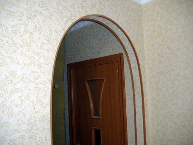 Варианты отделки дверного проема: идеи с фото